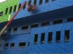 Air barrier work by Callaway Industrial