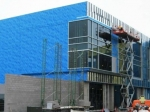 Air barrier work by Callaway Industrial