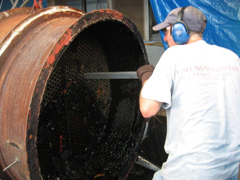 Dry ice blasting callaway industrial services for Industrial concrete floor cleaning services