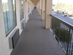 Commercial property traffic coating services.