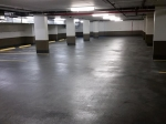 Parking garage traffic coating services.