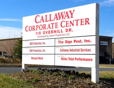 Callaway Industrial Services is located in the Callaway Corporate Center of Mooresville, NC