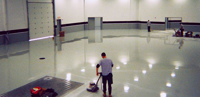 Epoxy / Urethane Floor Systems by Callaway Industrial
