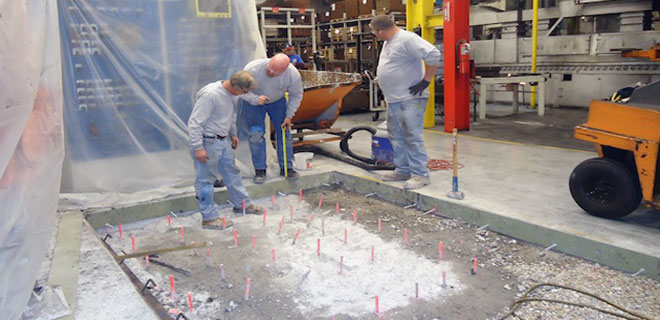 Commercial and Industrial Concrete Installation, Removal and Repair