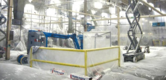 Interior and Exterior Industrial Facility Painting Services