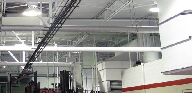 Callaway Industrial Cleaning Services for Overhead and High Bay Area Cleaning
