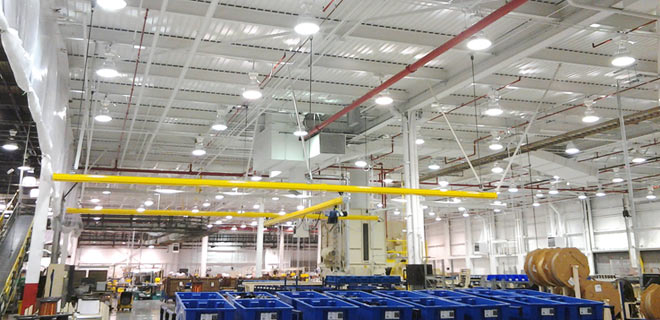 Callaway Industrial Painting Services for Overhead Structures and Piping