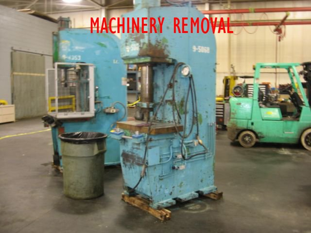 Commercial and Industrial Machinery Moving and Installation Services