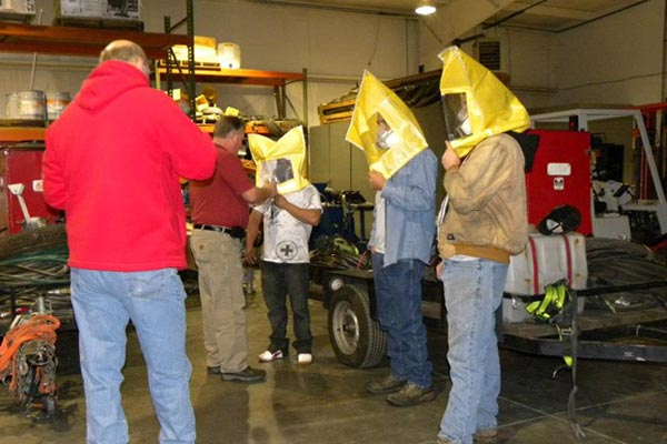 Safety Training at Callaway Industrial Services, Inc.