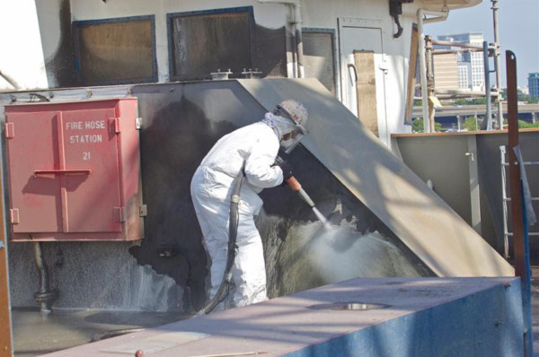 Callaway Industrial Services Now offers Vapor Abrasive Blasting with our newly acquired Graco EcoQuip 2