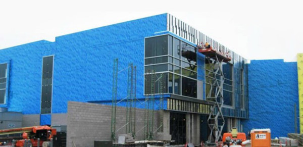 Commercial and Industrial Air Barrier Services by Callaway Industrial