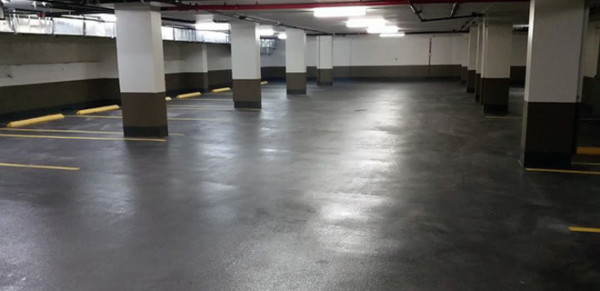 Commercial and industrial traffic coating services.